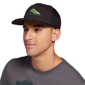 アルパインデザイン 帽子 アクセサリー メンズ Alpine Design Mountain Trucker Hat Black astyshop