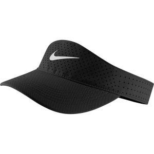 ナイキ 帽子 アクセサリー メンズ Nike Men's Dri-FIT AeroBill Visor Black/White astyshop