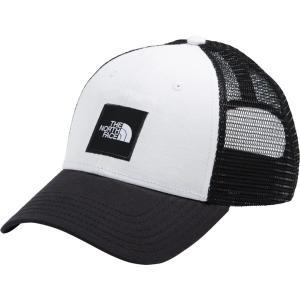 ノースフェイス 帽子 アクセサリー メンズ The North Face Men's Box Logo Trucker Hat TNF Black/TNF White astyshop