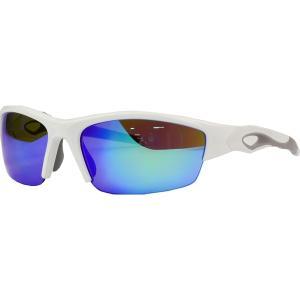 ローリングス サングラス・アイウェア アクセサリー メンズ Rawlings 32 Baseball Sunglasses White/Blue Mirror astyshop