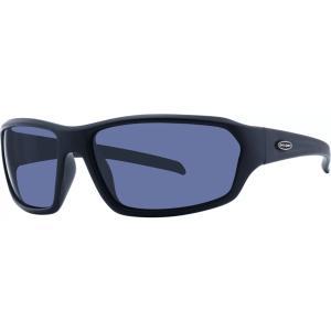 サーフアンドスポーツ サングラス・アイウェア アクセサリー メンズ Surf N Sport Langston Polarized Sunglasses Black/Smoke astyshop
