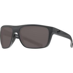 コスタデルマール サングラス・アイウェア アクセサリー メンズ Costa Del Mar Broadbill 580P Polarized Sunglasses Matte Gray Frame/Gray astyshop
