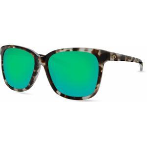 コスタデルマール サングラス・アイウェア アクセサリー メンズ Costa Del Mar May 580G Polarized Sunglasses Green astyshop