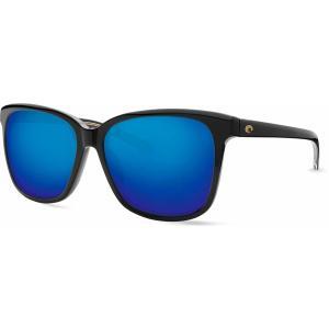 コスタデルマール サングラス・アイウェア アクセサリー メンズ Costa Del Mar May 580G Polarized Sunglasses Shiny Black/Blue astyshop