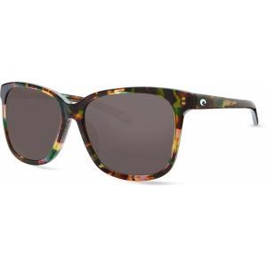 コスタデルマール サングラス・アイウェア アクセサリー メンズ Costa Del Mar May 580G Polarized Sunglasses Shiny Abalone/Gray astyshop