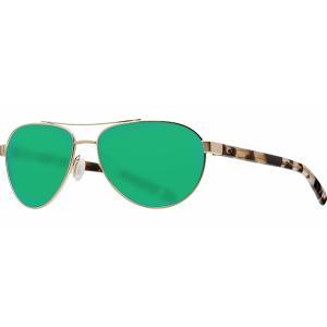 コスタデルマール サングラス・アイウェア アクセサリー メンズ Costa Del Mar Fernandina 580P Sunglasses Brushed Gold/Green astyshop