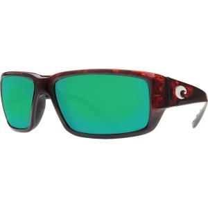 コスタデルマール サングラス・アイウェア アクセサリー メンズ Costa Del Mar Fantail 580G Polarized Sunglasses Tortoise Green astyshop