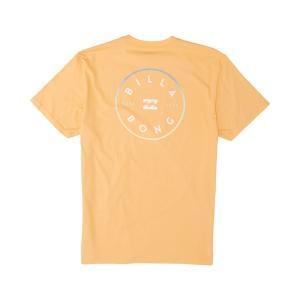 ビラボン Tシャツ トップス メンズ Billabong Men's Rotor Graphic T-Shirt Cantaloupe|astyshop