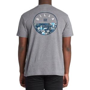 ビラボン Tシャツ トップス メンズ Billabong Men's Rotor Graphic T-Shirt DarkGreyHeather|astyshop