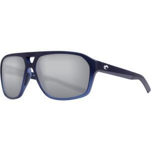 コスタデルマール サングラス・アイウェア アクセサリー メンズ Costa Del Mar Switchfoot 580P Sunglasses Deep Sea Blue/Gray Silver astyshop
