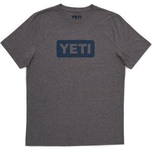 イエティ Tシャツ トップス メンズ YETI Men's Core Badge Logo Short Sleeve T-Shirt Gray astyshop