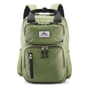 ハイシエラ バックパック・リュックサック バッグ メンズ High Sierra Mindie Backpack Forest Green|astyshop