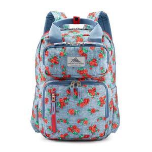 ハイシエラ バックパック・リュックサック バッグ メンズ High Sierra Mindie Backpack Denim Rose/Grph.Blu/Crmsn|astyshop
