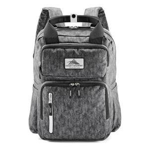 ハイシエラ バックパック・リュックサック バッグ メンズ High Sierra Mindie Backpack Fabric Tex/Black/Silver|astyshop