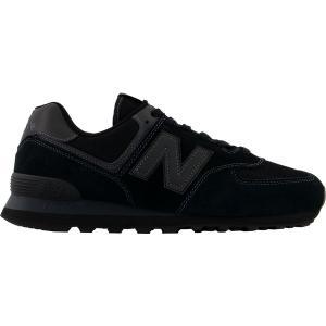 ニューバランス スニーカー シューズ メンズ New Balance Men's 574 v2 Shoes Black/Black|astyshop
