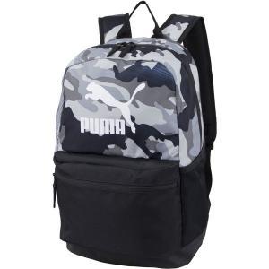 プーマ バックパック・リュックサック バッグ メンズ PUMA Layered Print Backpack Grey/Black|astyshop