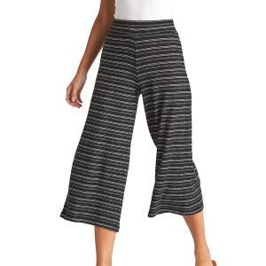 ビラボン カジュアルパンツ ボトムス レディース Billabong Women's Hide Out Knit Pants BlackMulti|astyshop