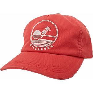 ビラボン 帽子 アクセサリー レディース Billabong Women's Surf Club Hat Rad Red|astyshop
