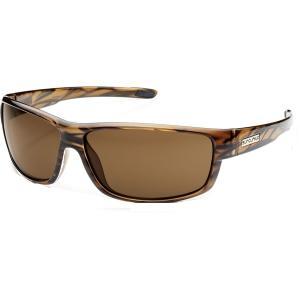 サンクラウド オプティクス サングラス・アイウェア アクセサリー メンズ Suncloud Voucher Polarized Sunglasses Brown/Stripe astyshop