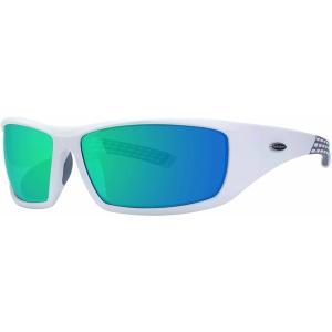 サーフアンドスポーツ サングラス・アイウェア アクセサリー メンズ Surf N Sport Big Shot Sunglasses White/Yellow Mirror astyshop