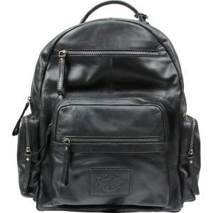 ローリングス バックパック・リュックサック バッグ メンズ Rawlings Frankie Leather Backpack Black|astyshop
