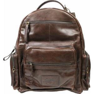 ローリングス バックパック・リュックサック バッグ メンズ Rawlings Frankie Leather Backpack Brown|astyshop