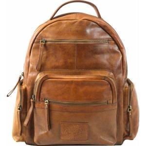 ローリングス バックパック・リュックサック バッグ メンズ Rawlings Frankie Leather Backpack Cognac|astyshop