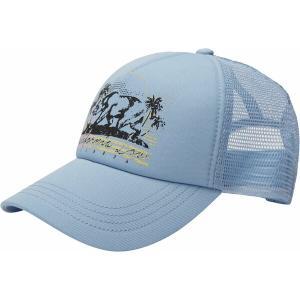ビラボン 帽子 アクセサリー レディース Billabong Women's Pitstop Trucker Hat Ice Blue|astyshop