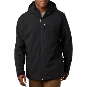 コロンビア ジャケット&ブルゾン アウター メンズ Columbia Men's Gate Racer Softshell Jacket (Regular and Big & Tall) Black1|astyshop