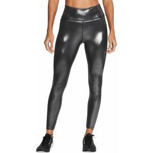 ナイキ カジュアルパンツ ボトムス レディース Nike Women's One Icon Clash Shimmer 7/8 Tights Black astyshop