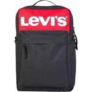 リーバイス バックパック・リュックサック バッグ メンズ Levi's Lazy Tab Backpack Black|astyshop