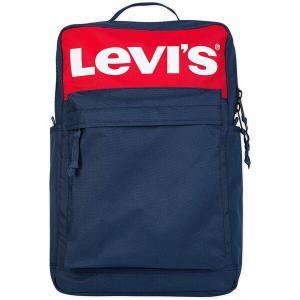 リーバイス バックパック・リュックサック バッグ メンズ Levi's Lazy Tab Backpack Dress Blues|astyshop