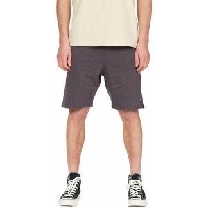 ビラボン ハーフ&ショーツ ボトムス メンズ Billabong Men's All Day Fleece Shorts Black|astyshop