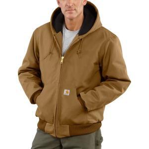 カーハート ジャケット&ブルゾン アウター メンズ Carhartt Men's Duck Active Jacket (Regular and Big & Tall) CarharttBrown|astyshop