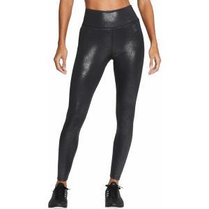ナイキ カジュアルパンツ ボトムス レディース Nike Women's One Sparkle 7/8 Tights Black astyshop