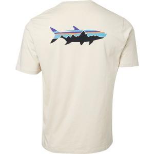 パタゴニア Tシャツ トップス メンズ Patagonia Men's Fitz Roy Fish Organic Cotton T-Shirt Pumice/FitzRoyTarpon astyshop
