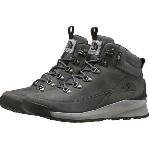 ノースフェイス ブーツ&レインブーツ シューズ メンズ The North Face Men's Back-to-Berkeley Mid Winter Boots Zinc Grey/TNF Black|astyshop