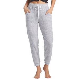 ビラボン カジュアルパンツ ボトムス レディース Billabong Women's Cozy Coast Knit Pants Athletic Grey|astyshop
