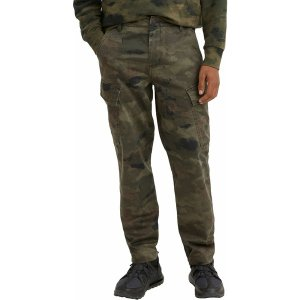 リーバイス カジュアルパンツ ボトムス メンズ Levi' Men's XX Tapered Cargo II Pants Ocean Camo Burnt Olive|astyshop