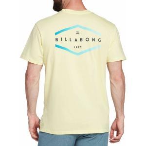 ビラボン シャツ トップス メンズ Billabong Men's Entry Graphic T-Shirt Beeswax|astyshop