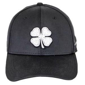 ブラッククローバー 帽子 アクセサリー メンズ Black Clover Men's Premium Clover Golf Hat Black astyshop