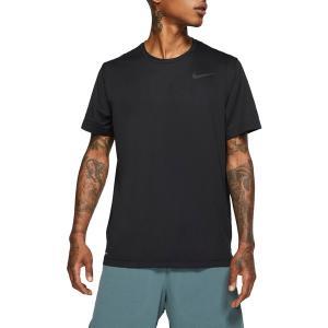 ナイキ Tシャツ トップス メンズ Nike Men's Hyper Dry T-Shirt Black/White astyshop