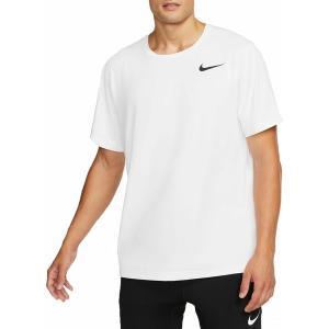 ナイキ Tシャツ トップス メンズ Nike Men's Hyper Dry T-Shirt White/Black astyshop