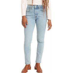 リーバイス カジュアルパンツ ボトムス レディース Levi's Women's 501 Stretch Skinny Jeans Tango Light|astyshop