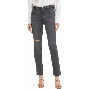 リーバイス カジュアルパンツ ボトムス レディース Levi's Women's 501 Stretch Skinny Jeans Dark Side Of The Moon|astyshop
