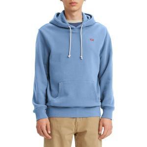 リーバイス パーカー・スウェットシャツ アウター メンズ Levi's Men's Original Pullover Hoodie Placid Blue|astyshop