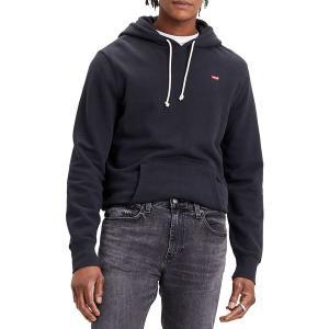 リーバイス パーカー・スウェットシャツ アウター メンズ Levi's Men's Original Pullover Hoodie Mineral Black|astyshop
