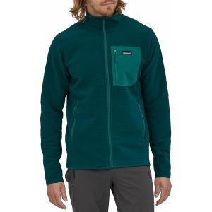 パタゴニア ジャケット&ブルゾン アウター メンズ Patagonia Men's R2 TechFace Jacket Dark Borealis Green astyshop