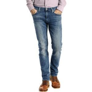 リーバイス カジュアルパンツ ボトムス メンズ Levi's Men's Premium 511 Slim Jeans Navy|astyshop
