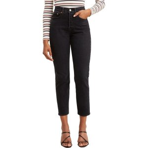 リーバイス カジュアルパンツ ボトムス レディース Levi's Women's Premium Wedgie Fit Jeans Wild Bunch|astyshop